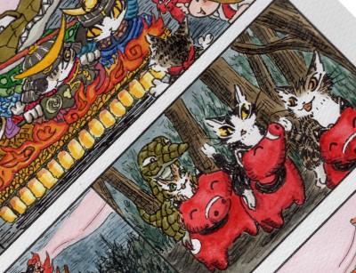 赤ベコに乗って東北の祭りへ2